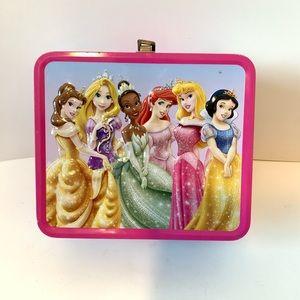 DISNEY Princesses Metal Lunch Box